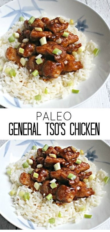 Paleo General Tso's Chicken