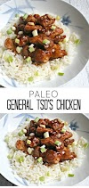 PALEO RECIPES | Paleo General Tso's Chicken