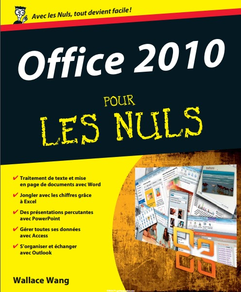 t u00e9l u00e9charger livre gratuit office 2010 pour les nuls excel  word  outlook  powerpoint  access pdf