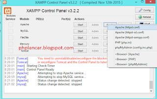 1 - Tutorial Mengganti Port Pada Mysql Dan Apache Di Xampp Versi Terbaru