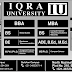 IU IQRA University Admission 2016 BBA, BS, MBA, MS, PhD, M.Phil