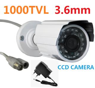 mini telecamera aprica ccd camera 3.6mm