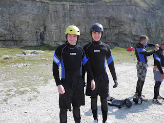 Coasteering at Studland Sea School