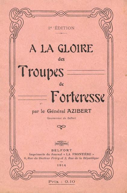 Place de Belfort —  À la gloire des troupes de forteresse