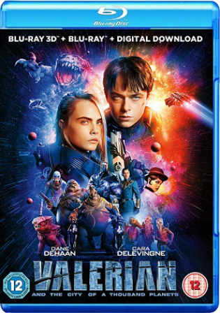 Valerian and The City of a Thousand Planets 2017 BRRip 400MB English 480p ESub Watch Online Full Movie Download bolly4u