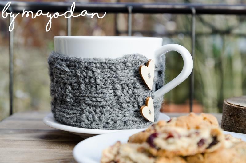 Diy Anleitung Für Gestrickte Cupcozies Und Ein Rezept Für Cookies