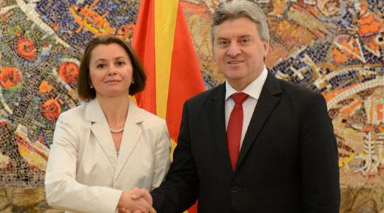 New Ukraine, India Ambassadors to Macedonia present credentials to President Ivanov