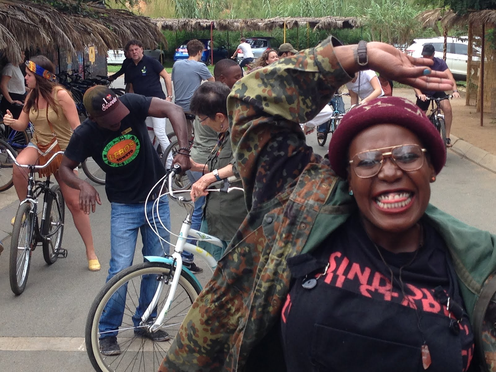 Soweto Bicycle Tours in an Amazing Race