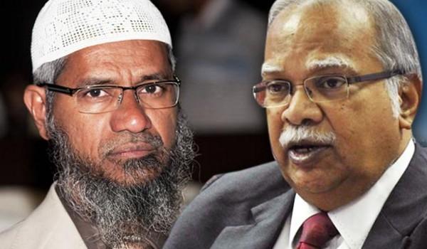 Sebut Zakir Naik sebagai Setan, Politisi Malaysia dilempari Bom