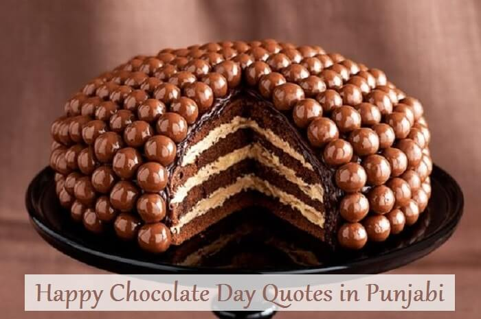 Happy Chocolate Day Quotes SMS in Punjabi