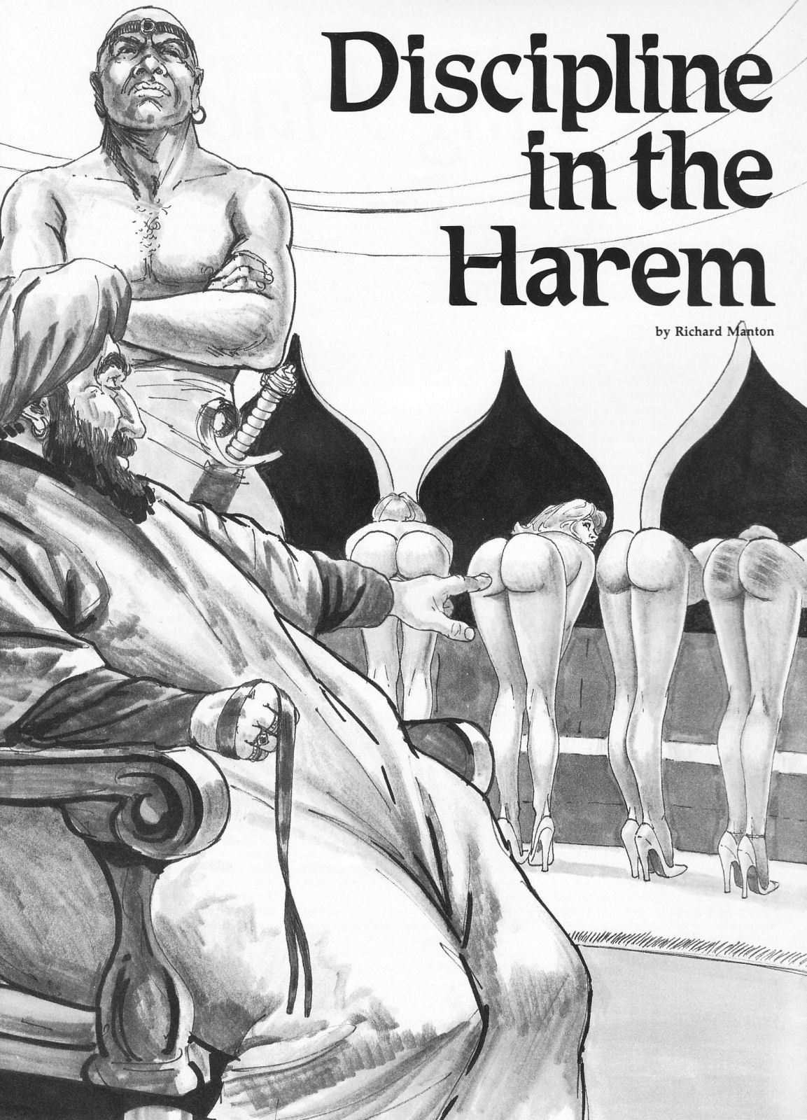 Spanking Magazine Stories Discipline In The Harem-4257