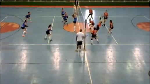 Jornal Catugi inova e narra partida de Voleibol em Borrazópolis