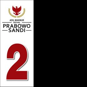 Bingkai Foto Facebook Tema Prabowo Sandi