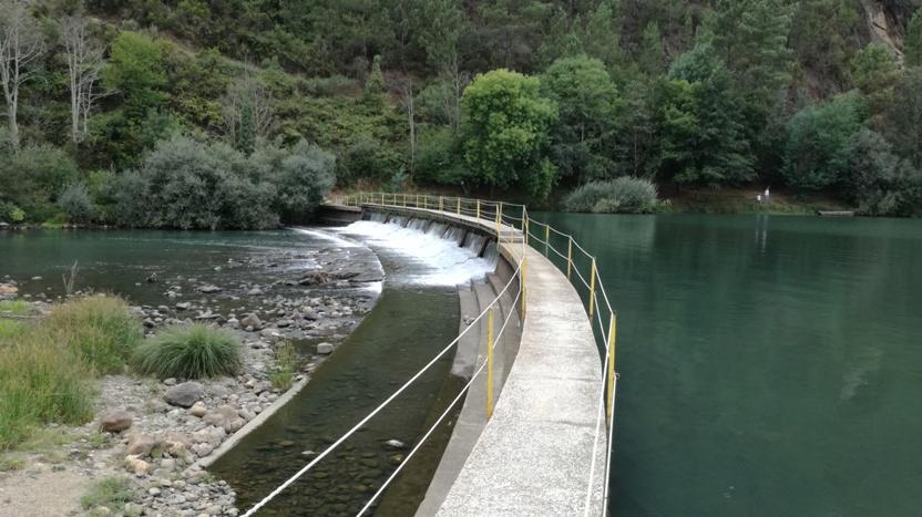 Passadiço sobre o Rio Zêzere