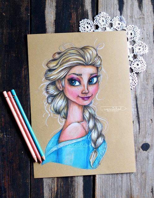 Elsa- rysunek