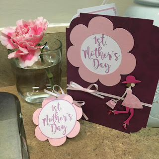 First Mother's Day Card and Pendant, designed by Grace Baxter