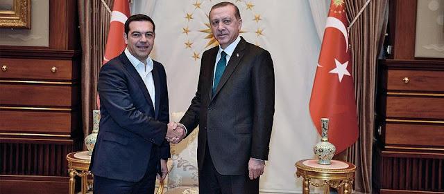 Συνάντηση Τσίπρα - Ερντογάν στην Κωνσταντινούπολη