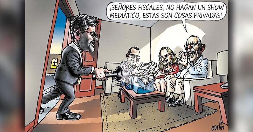 Carlincaturas Jueves 08 Marzo 2018 - La República