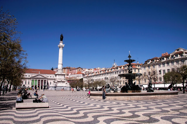 Rossio em Lisboa