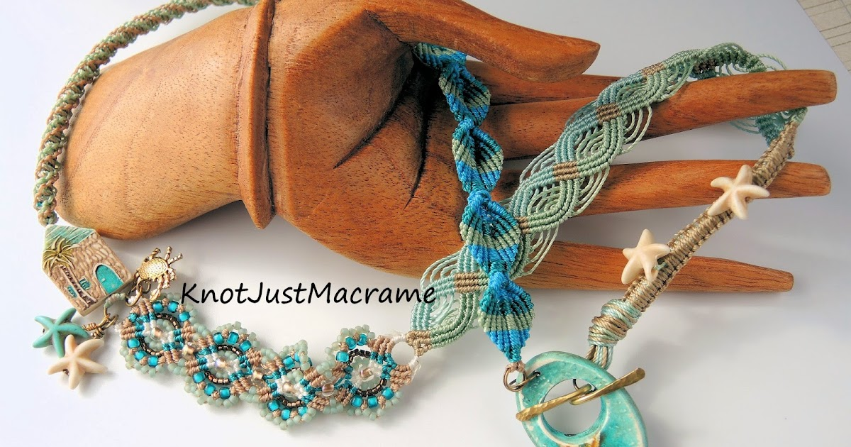 Knot Just Macrame By Sherri Stokey A Walk On The Beach