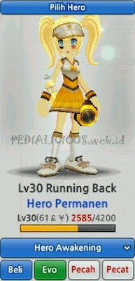 Running Back Evolution LostSaga Indonesia