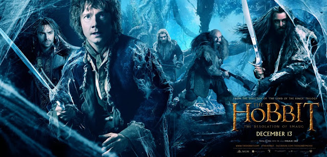 Bilbo Baggins si Dwarfi in The Hobbit: The Desolation Of Smaug