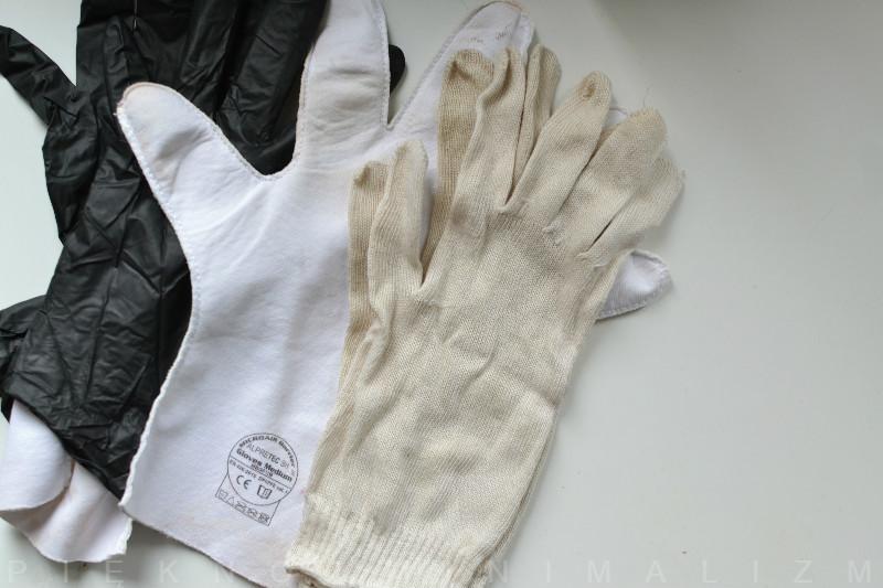 rękawiczki dla kosmetyczek/manicurzystek