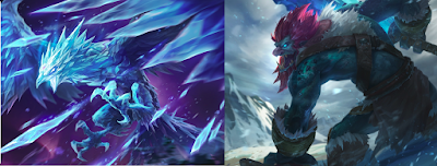 Anivia ve Trundle ikilisi