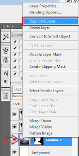 cara mengcopy layer di photoshop