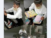 Tinggal Sebatang Kara dan Berjualan Buku Iqra Demi Bertahan Hidup, Kisah Kakek Husein ini Bikin Haru Netizen