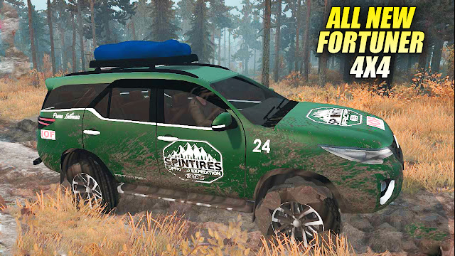 Mod Toyota All New Fortuner Spintires Mudrunner