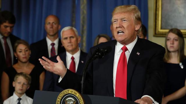 Trump admite: Plan de CIA para Siria fue peligroso y un derroche