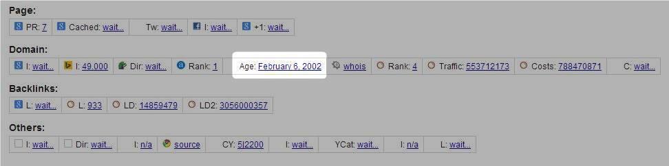 Cara Meningkatkan Kecepatan Index Blog di Google dengan Umur Domain