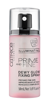 PRIME AND FINE DEWY GLOW FIXING SPRAY