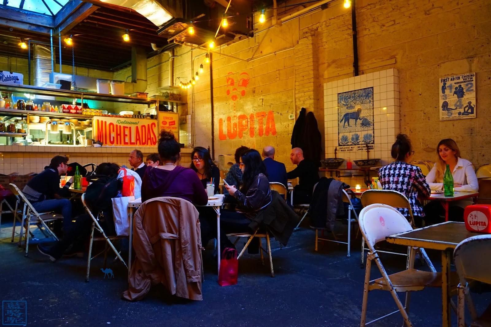 Le Chameau Bleu - Blog Voyage New York City - Restaurant Tacombi - Salle Restaurant de tacos à New York