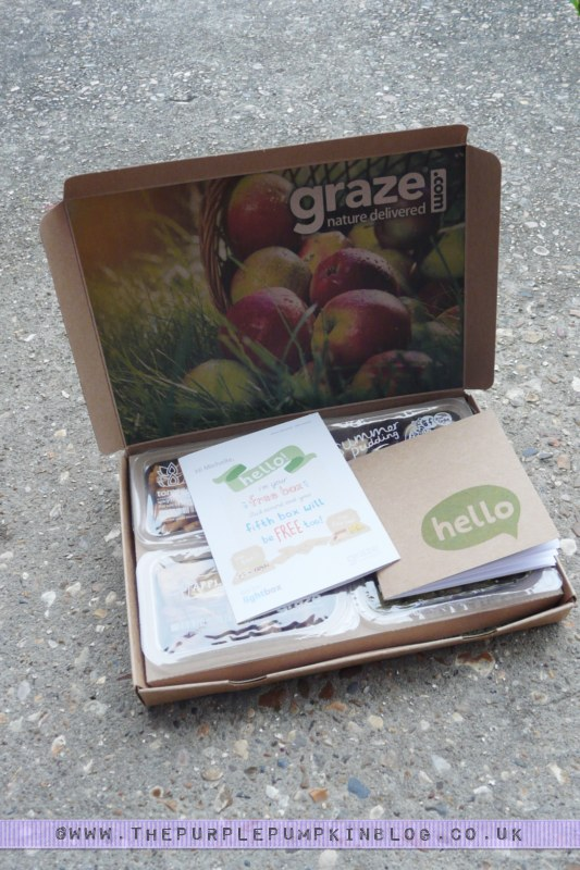 my 1st graze box