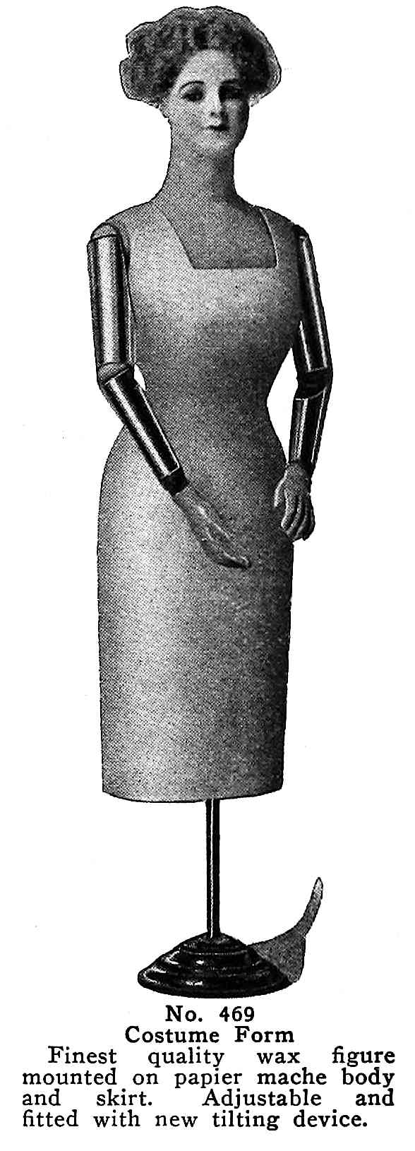mannequin photgraph from a 1913 catalog