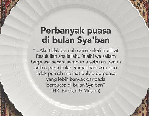 Hukum Puasa Nisfu Bulan Sya'ban