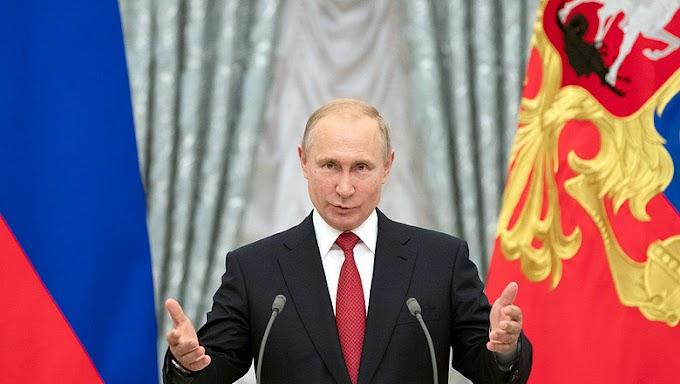 Putyin: Oroszország senkivel sem készül háborúzni
