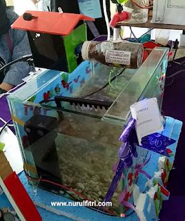 kompetisi robotik di acara maker festival