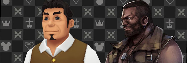 Barret wallace Kingdom Hearts