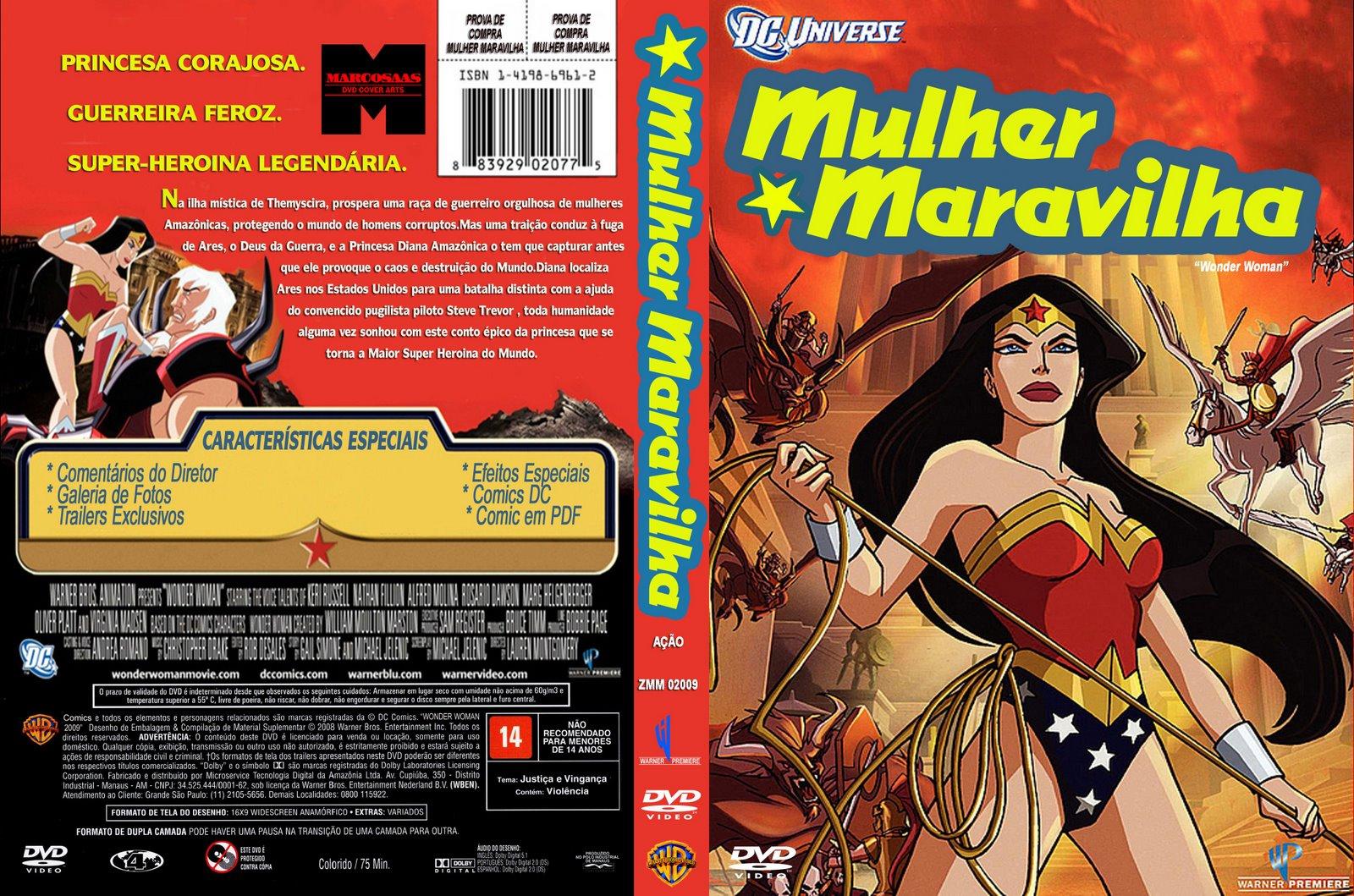 Hanna Barbera Show Parte 2 Mulher Maravilha 2009 Wonder -8135