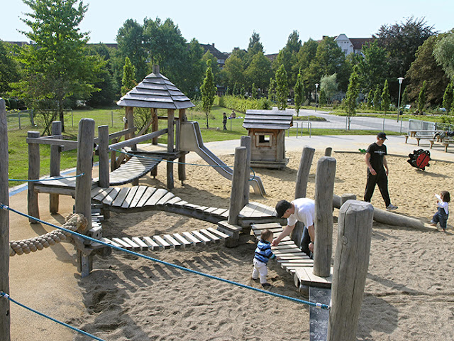 Spielplatz Planten un Blomen em Hamburgo