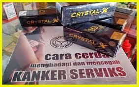 efek samping pemakaian Crystal X bernilai positif
