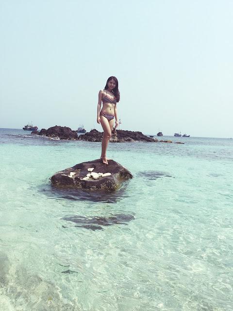 Hoa hậu FRT bật mí du lịch Lý Sơn 'ngon bổ rẻ' - Hình 3