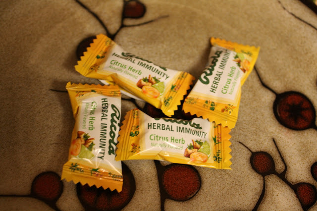 Ricola Immunity Herbal Lozenges for colds and flu