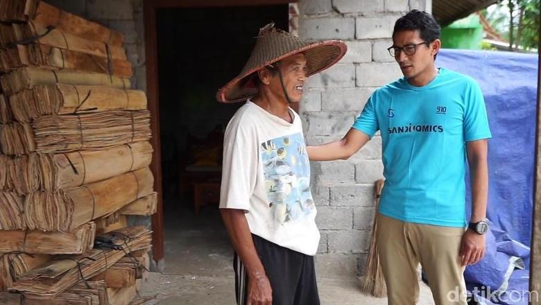 Safari Politik, Sandiaga Kaget Banyak Warga yang Tak Kenal Prabowo