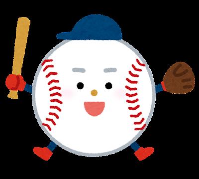野球のキャラクター