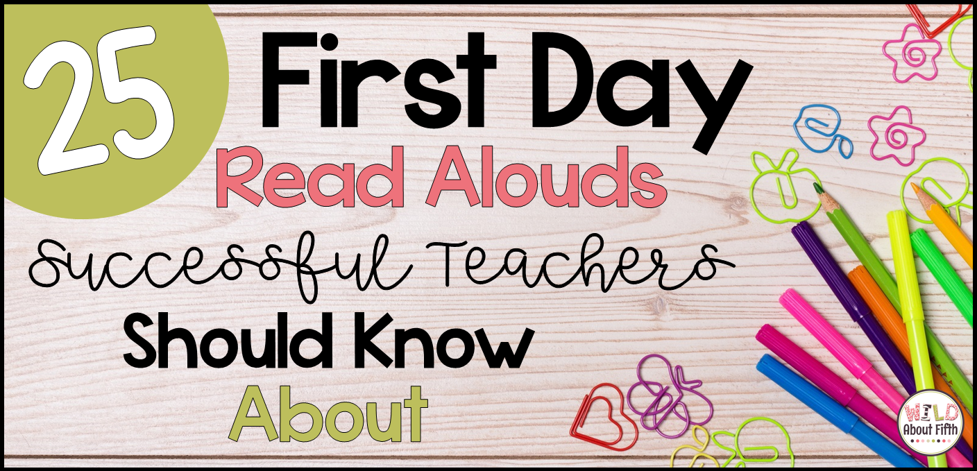 picture books to read aloud on the first day of school