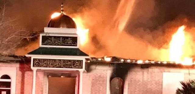 Usai Kebakaran, Masjid di Texas Langsung Dapatkan Bantuan Rp 10 Miliar dalam Sehari